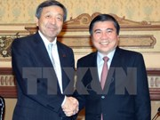 Japón: socio importante de Ciudad Ho Chi Minh en inversión y comercio