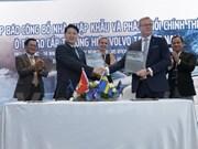 Empresa Bac Au se convierte en concesionario oficial de Volvo en Vietnam
