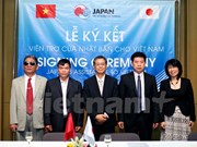 Japón concede más de 400 mil dólares para cuatro proyectos en Vietnam