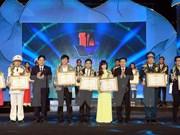 Distinguen a los 10 jóvenes vietnamitas más destacados