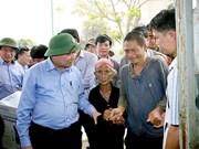 Vicepremier vietnamita insta garantizar la vida de pobladores afectados por sequía