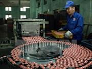 Índice de precios industriales disminuye 0,73 por ciento