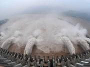 Lao abre compuertas de presas para aliviar sequía y salinización en Delta Mekong