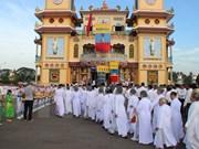 Religión de Cao Dai celebra 90 aniversario de fundación