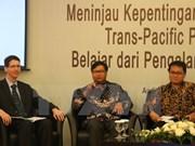 Vietnam comparte experiencias en TPP con Indonesia