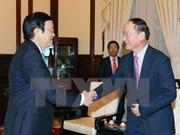 Presidente vietnamita solicita apoyo de Samsung a la industria auxiliar