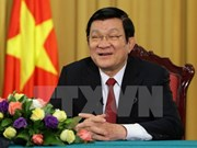 Parlamento aprueba liberación del cargo a presidente Truong Tan Sang