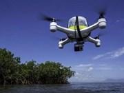 Un avión no tripulado extranjero cae al mar de Indonesia