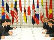 ASEAN y Japón promueven relaciones de cooperación