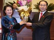 Líderes del mundo felicitan a presidente electo de Vietnam