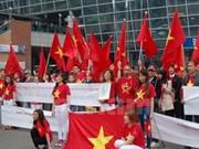 Vietnamitas en Sudcorea protestan acciones ilegales de China en Mar del Este