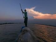 El caudal del río Mekong en cuenca baja alcanza picos máximos