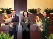 Parlamento vietnamita tiene dos nuevos vicepresidentes