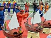 Honran a marineros mártires vietnamitas en Hoang Sa