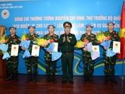 Vietnam envía más oficiales a operaciones de paz de ONU