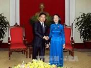 Saludan cooperación juvenil Vietnam - Laos