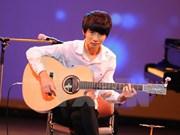 Talentoso guitarrista sudcoreano actuará en Vietnam