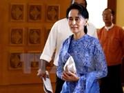 Cámara baja de Myanmar aprueba designación de cargo de asesor de Estado
