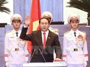 Líderes mundiales felicitan al nuevo presidente de Vietnam