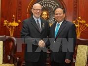 Líder del Partido Comunista de Estados Unidos visita Ciudad Ho Chi Minh