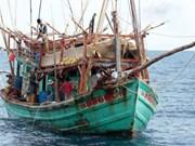 Detienen otros barcos vietnamitas por violar zona marítima de Tailandia