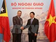 Vietnam y Timor Leste analizan medidas para impulsar nexos multifacéticos