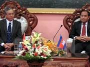 Localidades vietnamita y camboyana buscan oportunidades de cooperación