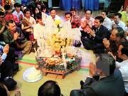 Celebran fiesta laosiana de Bunpimay en Thai Nguyen