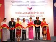 Celebran exposición de la Prensa de Vietnam 2016 en Laos