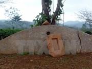 Hallan antiguo instrumento musical de piedra en Tuyen Quang