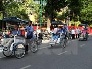 Crecen llegadas de turistas extranjeros a Hanoi