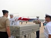 Repatrían restos de militar estadounidense