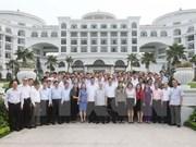 Secretario general del PCV inspecciona construcción partidista en Quang Ninh