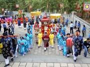 Vietnamitas en México rinden tributo a los reyes Hung