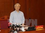 Secretario general del PCV preside reunión sobre lucha anticorrupción