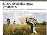 Prensa argentina: El agro vietnamita busca inversiones