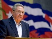 Líder vietnamita felicita al primer secretario del Partido Comunista de Cuba