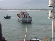 Vietnam rescata a un barco chino accidentado en sus aguas