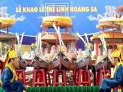 Revive rito de homenaje a patrulleros de Hoang Sa