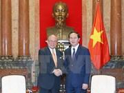 Vietnam prioriza los nexos con Japón en su política exterior, afirma presidente