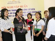 Entrenan capacidad de campaña electoral para candidatos de minorías étnicas