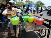 Camboya suministra agua potable a zonas afectadas por la sequía