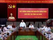 Premier urge a desarrollar infraestructura y economía de Lai Chau
