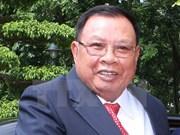 Visita de presidente laosiano a Vietnam fortalece confianza bilateral