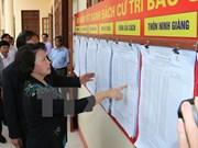 Dirigentes vietnamitas realizan supervisión preelectoral