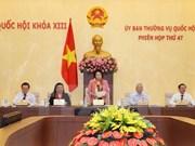 Emprenden en Hanoi reunión 47 de Comité Permanente de Parlamento