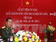 Vietnam acompañará con Laos en desarrollo nacional, afirma ministro de defensa