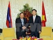 Esmerada Ciudad Ho Chi Minh en fortalecer nexos multifacéticos con Laos