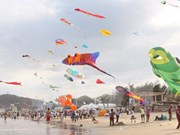 Celebran en Vietnam Festival Internacional del Cometa
