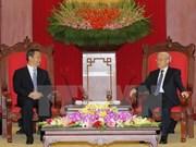 Secretario general del PCV valora nexos con Guangxi